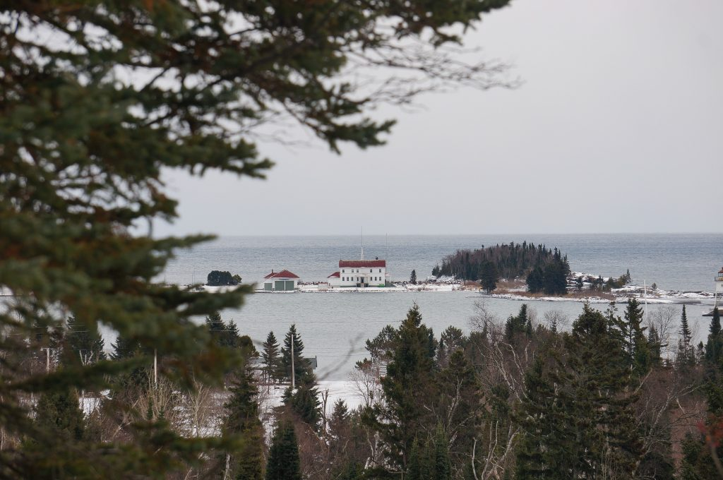 Grand Marais Coast Guard Station
