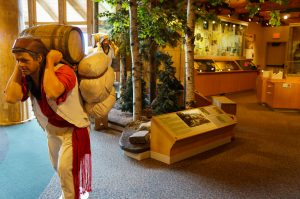 Voyaguer at the Grand Portage Heritage Center