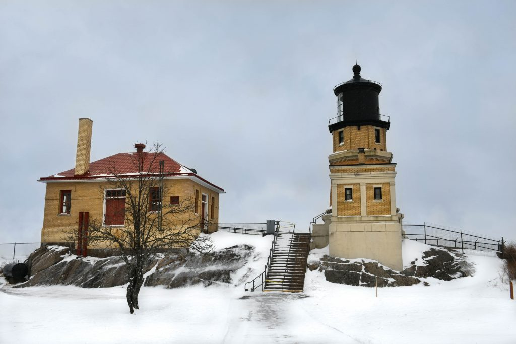 Split Rock Lighthouse and Fog Signal Building