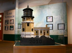 Split Rock Lighthouse made out of 20,000 Legos!