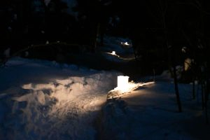 North Shore Candlelight Snowshoe