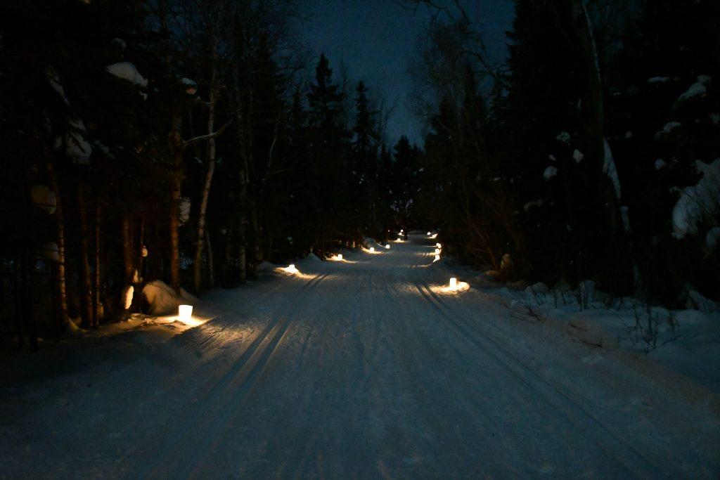 North Shore Candlelight Ski - Sugarbush Trails, Oberg Mt.