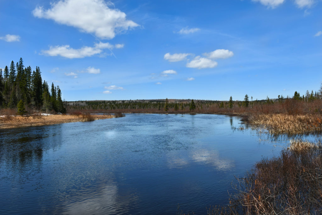 Upper Poplar River canoe launch, Lutsen