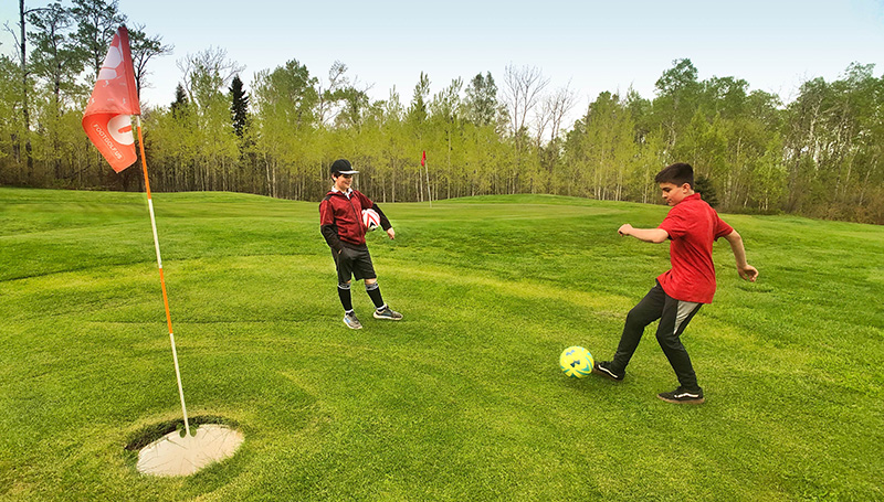 FootGolf at Superior National