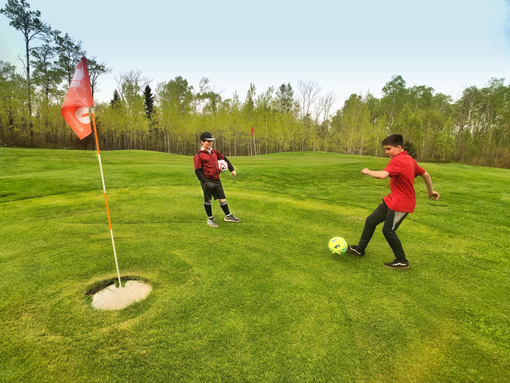 FootGolf at Superior National Golf Course, Lutsen, MN