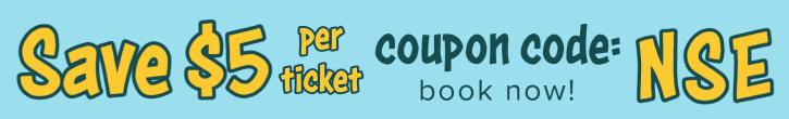 Save $5 at the North Shore Adventure Park, coupon code NSE