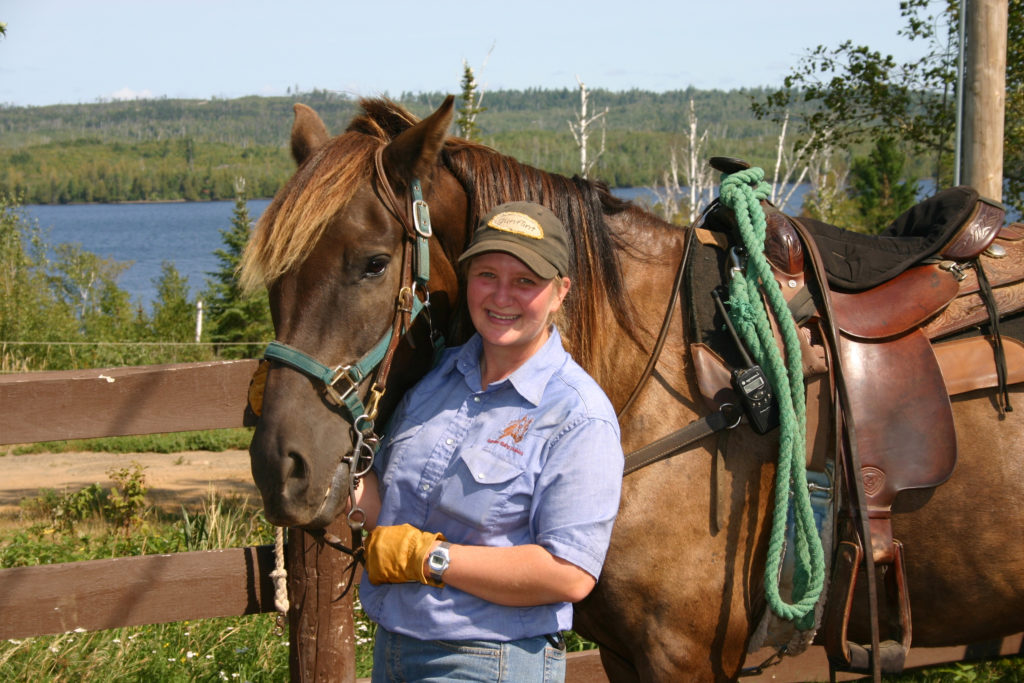 Gunflint Lodge Horseback Riding