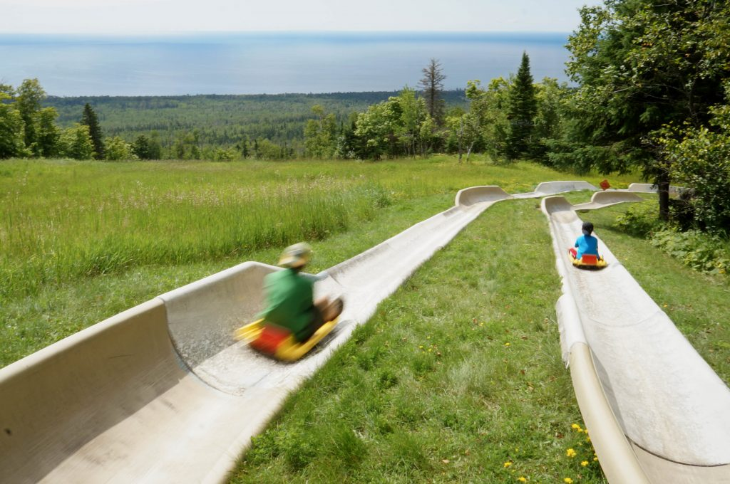 Lutsen Mountains Alpine Slide