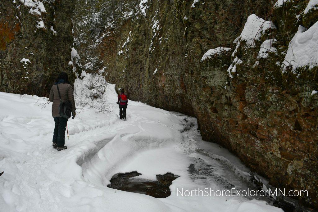 Hiking the Kadunce River canyon
