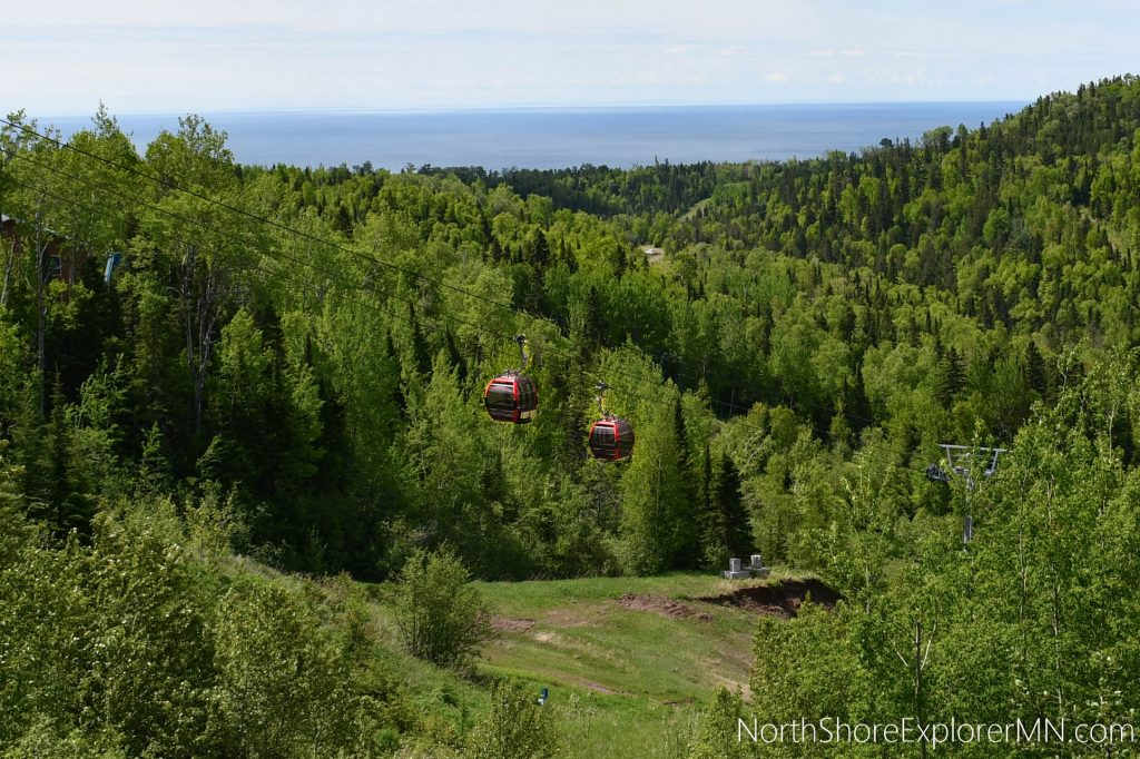 Summit Express Gondola at Lutsen Mountains