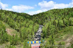 Ride of the Poplar River on the Summit Express Gondola