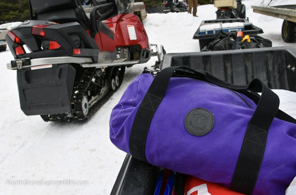 Duluth Pack - winter camping