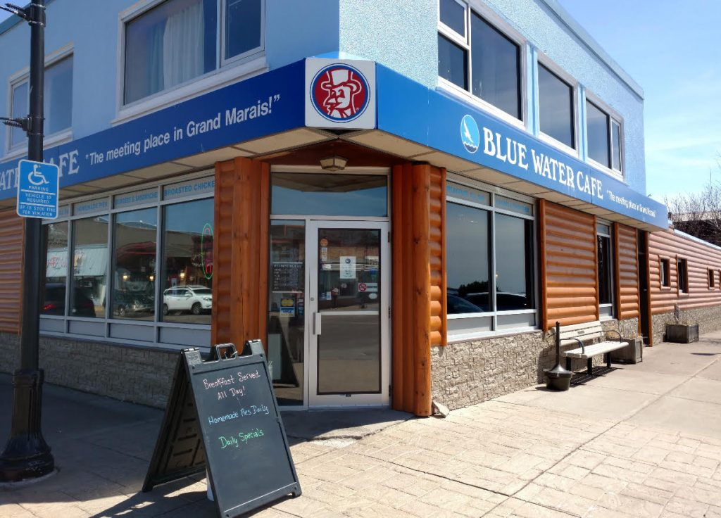 Bluewater Cafe, Grand Marais