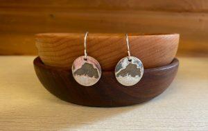 Lake Superior Earrings @silvercreekco