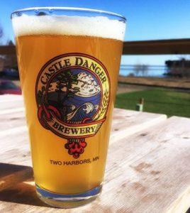 Castle Danger beer @larsmont_cottages