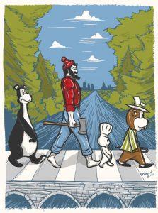 MN Abbey Road @thebiglakelife