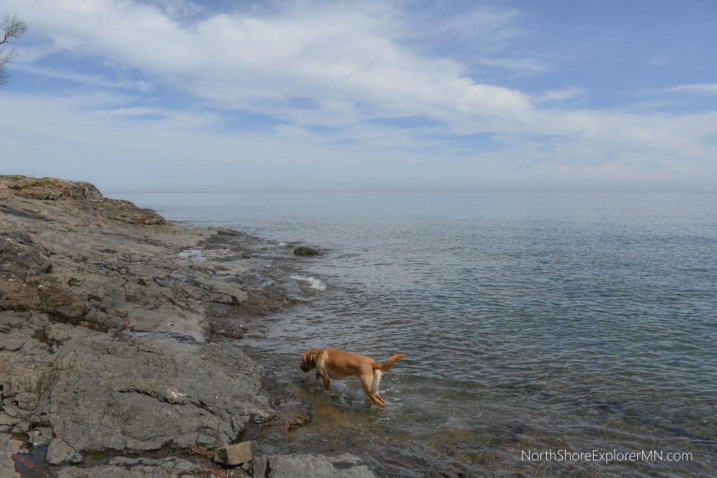 Lake Superior at Lutsen Grandview Park