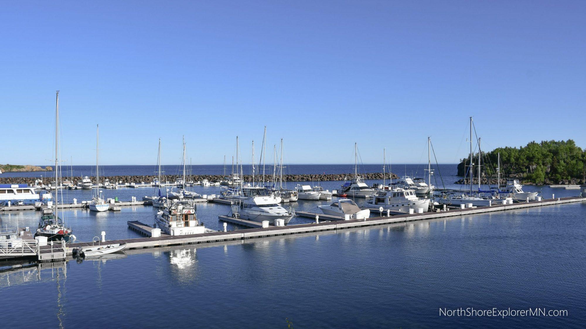 Silver Bay Marina, picnic areas