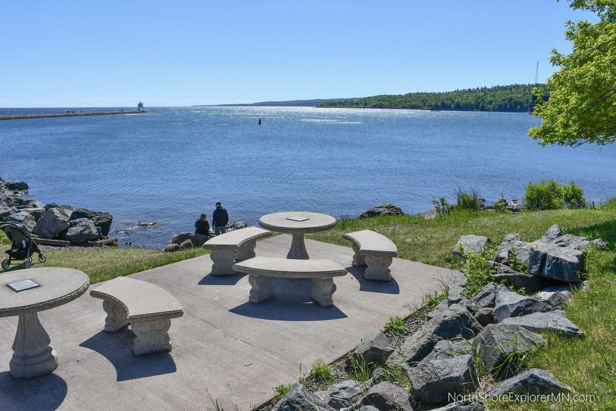 North Shore picnic area - Agate Bay, Two Harbors