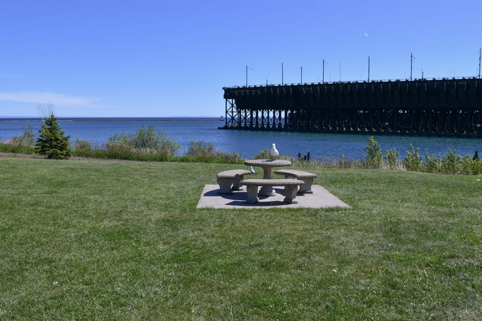 Paul Van Hoven Park, Two Harbors. North Shore Picnic Area