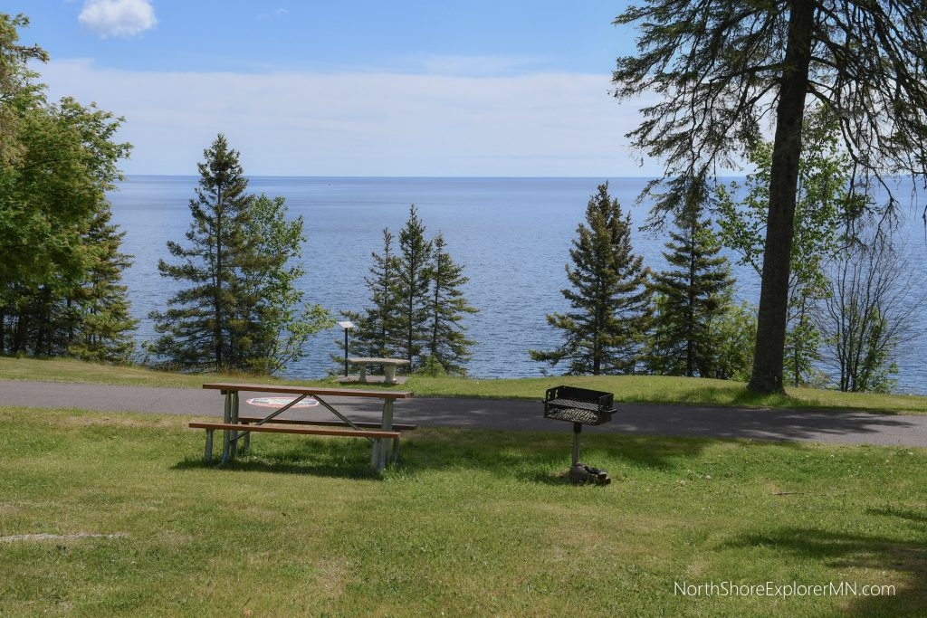 Lakeview Park, Two Harbors. North Shore Picnic Area