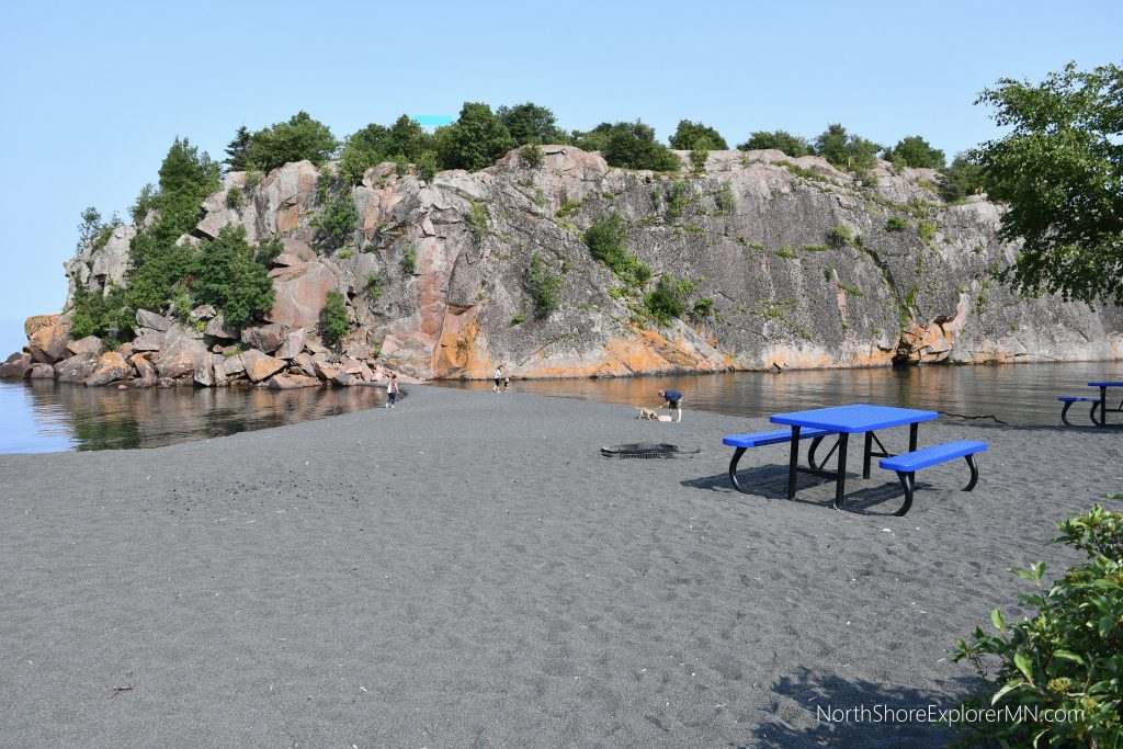 Black Beach, Silver Bay, MN