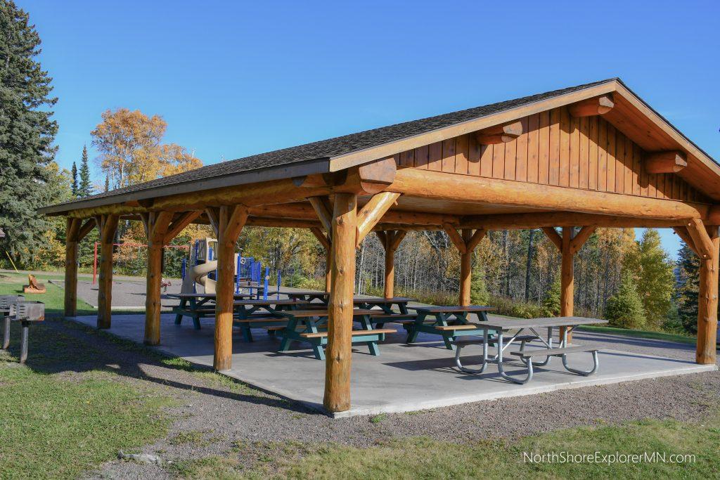Pavilion at Lutsen Grandview Park