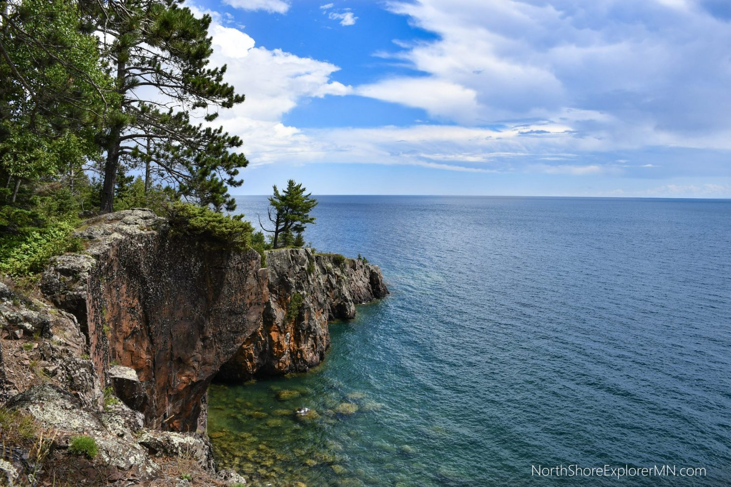 Chrystal Cliffs North Shore MN Hiking Trail