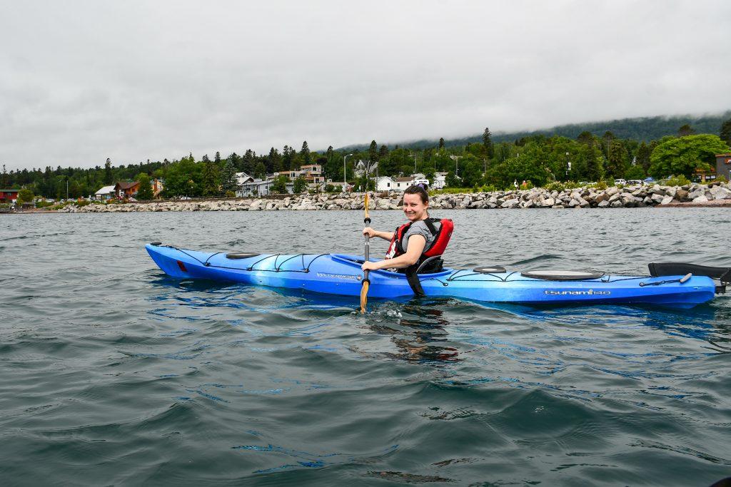 kayaking at the North Shore Water Festival