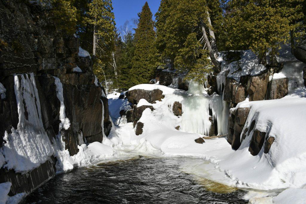 Pool above Cascade Falls, Tettegouche State Park