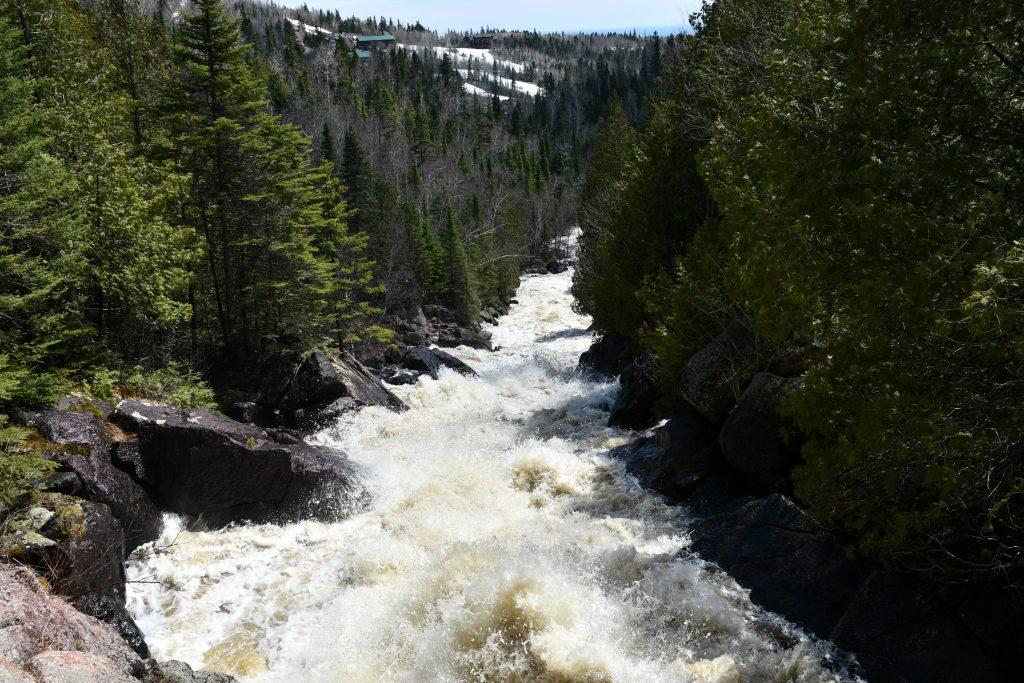 Upper Poplar River Falls, North Shore MN