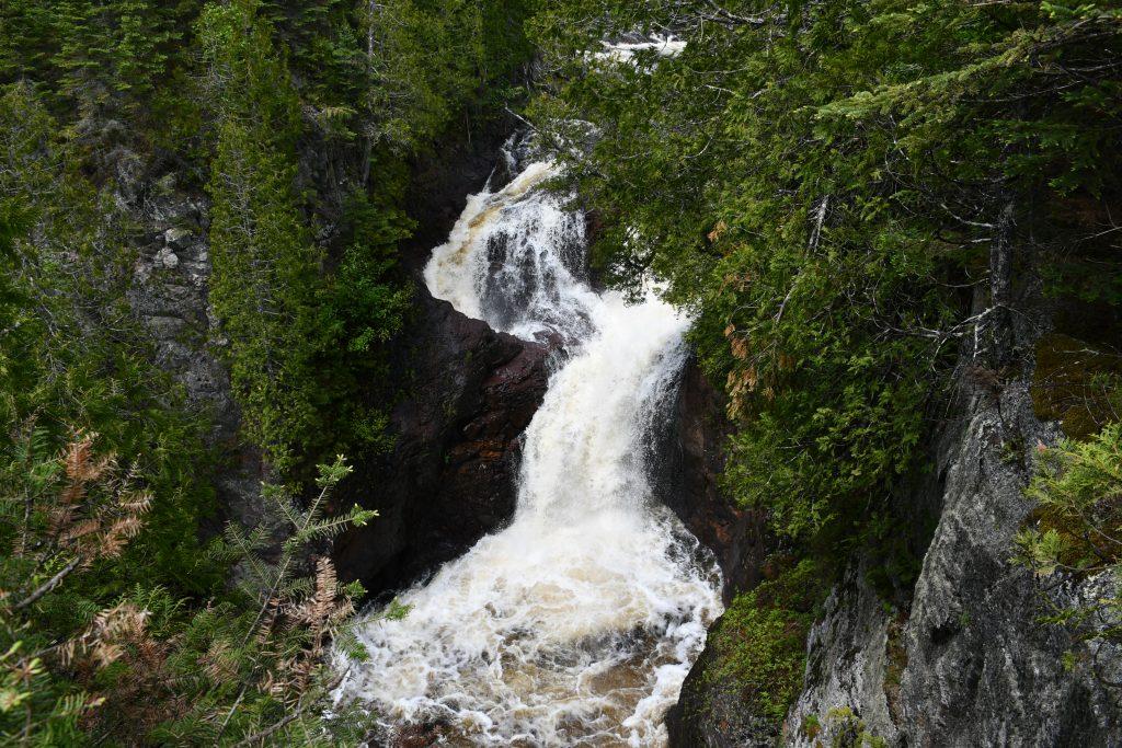 Devil's Kettle Falls, North Shore MN