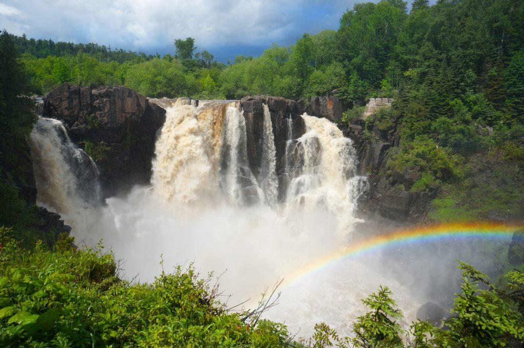 High Falls, Grand Portage State Park