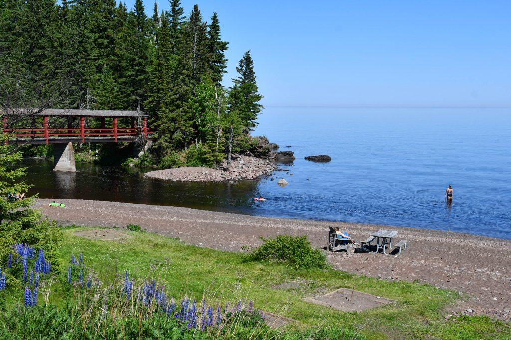 Poplar River at Lutsen Resort on Lake Superior