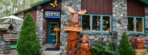 gift shop on the Gunfint Trail