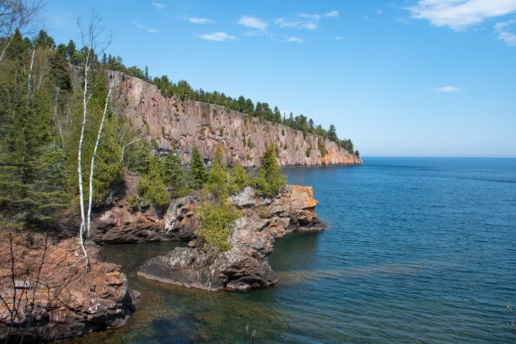 view from Shovel Point at Tettegouche State Park, North Shore MN