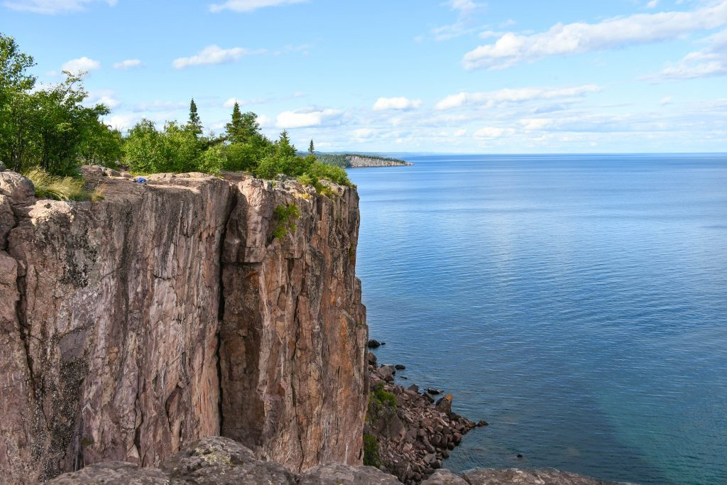View from Palisade Head in Silver Bay, MN