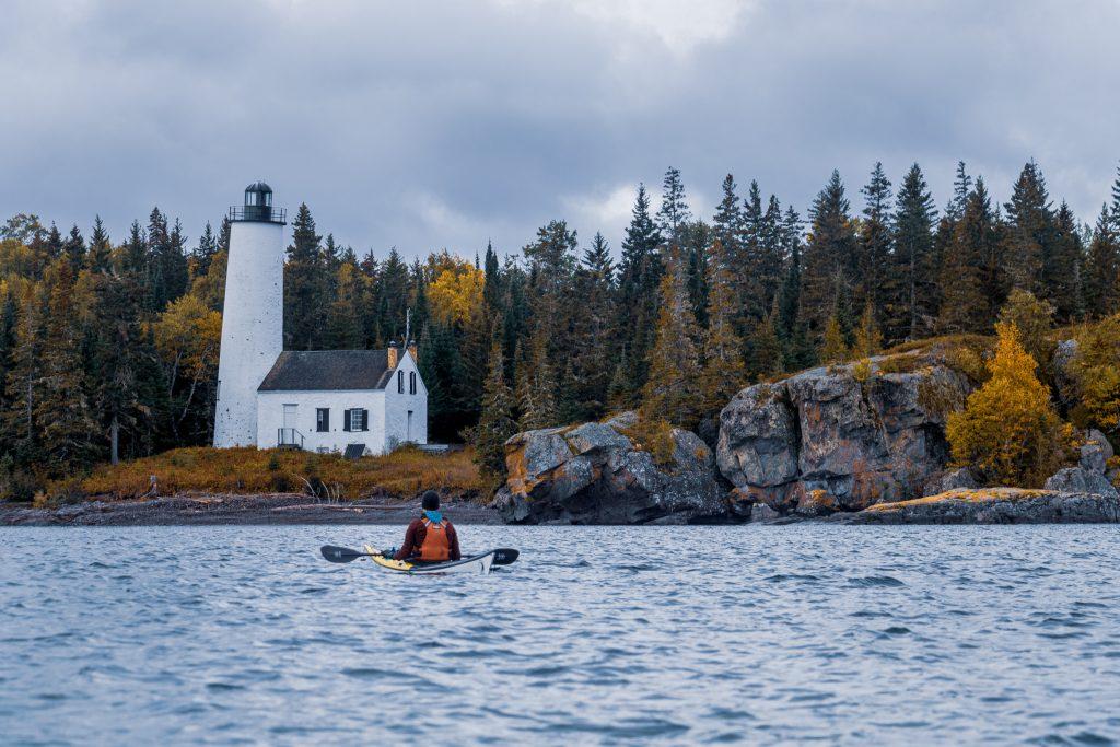 kayaking in Isle Royale National Park